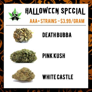 Halloween Special Flowers (AAA strains)