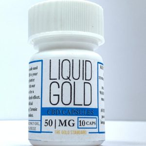 Liquid Gold - CBD Capsules 50mg